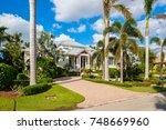 naples  florida   november 1 ...   Shutterstock . vector #748669960