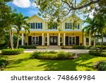 naples  florida   november 1 ... | Shutterstock . vector #748669984