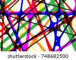 colorful abstract background... | Shutterstock .eps vector #748682500