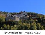 vaduz castle  schloss vaduz  in ... | Shutterstock . vector #748687180