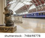 london  november  2017  a... | Shutterstock . vector #748698778