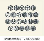 modern design logo | Shutterstock .eps vector #748709200