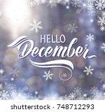 great season texture with... | Shutterstock . vector #748712293