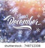 great season texture with...   Shutterstock . vector #748712338