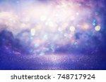 Purple Glitter Lights...
