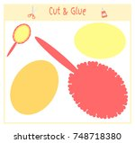 education paper game for the... | Shutterstock .eps vector #748718380