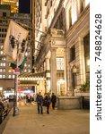 new york city   september 28 ...   Shutterstock . vector #748824628