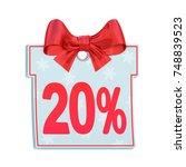 Christmas Sale Paper Price Tag...
