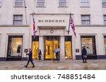 london  november  2017 ... | Shutterstock . vector #748851484