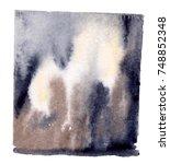 watercolor blotch | Shutterstock . vector #748852348