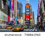 new york  usa   september 8 ... | Shutterstock . vector #748861960