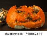 Moldy Pumpkin. End Of Hallowee...