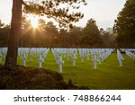 American Cemetery In Collevile...
