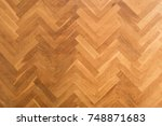 wooden floor background  ... | Shutterstock . vector #748871683