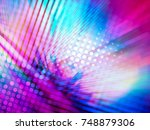 colorful background for disco... | Shutterstock . vector #748879306