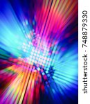 colorful background for disco... | Shutterstock . vector #748879330