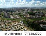 aerial view of ribeirao preto... | Shutterstock . vector #748883320