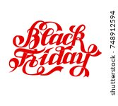 black friday | Shutterstock . vector #748912594