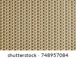 abstract brown plastic material ... | Shutterstock . vector #748957084