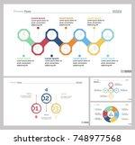 four recruitment slide... | Shutterstock .eps vector #748977568