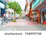 bangkok  thailand   31 aug ... | Shutterstock . vector #748999708