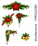 christmas elements for your... | Shutterstock .eps vector #749016580