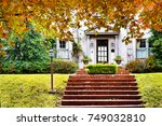 curb appeal   charming home...   Shutterstock . vector #749032810