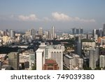 ion sky  orchard  singapore ... | Shutterstock . vector #749039380