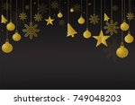 happy new year background.new... | Shutterstock .eps vector #749048203