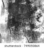 grunge urban ink texture black... | Shutterstock . vector #749050864