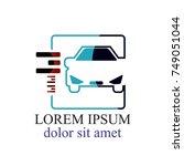 auto car logo concept | Shutterstock .eps vector #749051044
