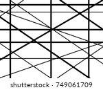 white and black stripes.  | Shutterstock .eps vector #749061709