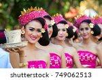 denpasar  bali island ... | Shutterstock . vector #749062513