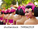 denpasar  bali island ... | Shutterstock . vector #749062519