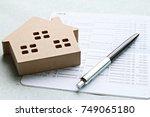 business  finance  saving money ...   Shutterstock . vector #749065180
