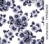 abstract elegance seamless... | Shutterstock .eps vector #749082460