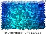 light blue vector triangle...   Shutterstock .eps vector #749117116
