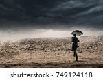 ready to challenge bad times | Shutterstock . vector #749124118
