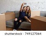 people  relationships ... | Shutterstock . vector #749127064