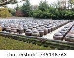 korean traditional  beautiful... | Shutterstock . vector #749148763