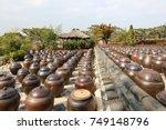 korean traditional  beautiful... | Shutterstock . vector #749148796