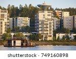 sauna and spa cruise  jyvaskyla ... | Shutterstock . vector #749160898