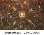 Circuit Board With Cpu. ...
