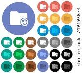 undo directory last operation... | Shutterstock .eps vector #749196874