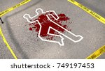a puzzling 3d rendering of a...   Shutterstock . vector #749197453