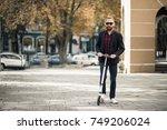 bearded man | Shutterstock . vector #749206024