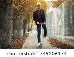 bearded man | Shutterstock . vector #749206174
