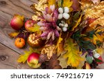 Thanksgiving Decoration With...