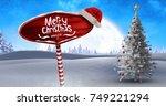 Digital Composite Of Merry...
