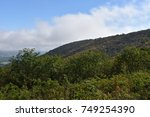 Small photo of Blue Ridge Mountain chain near Front Royal, Virginia
